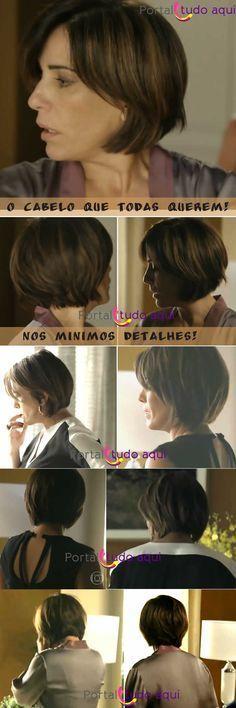 Corte de cabelo estilo chanel ou Bob desconstruído