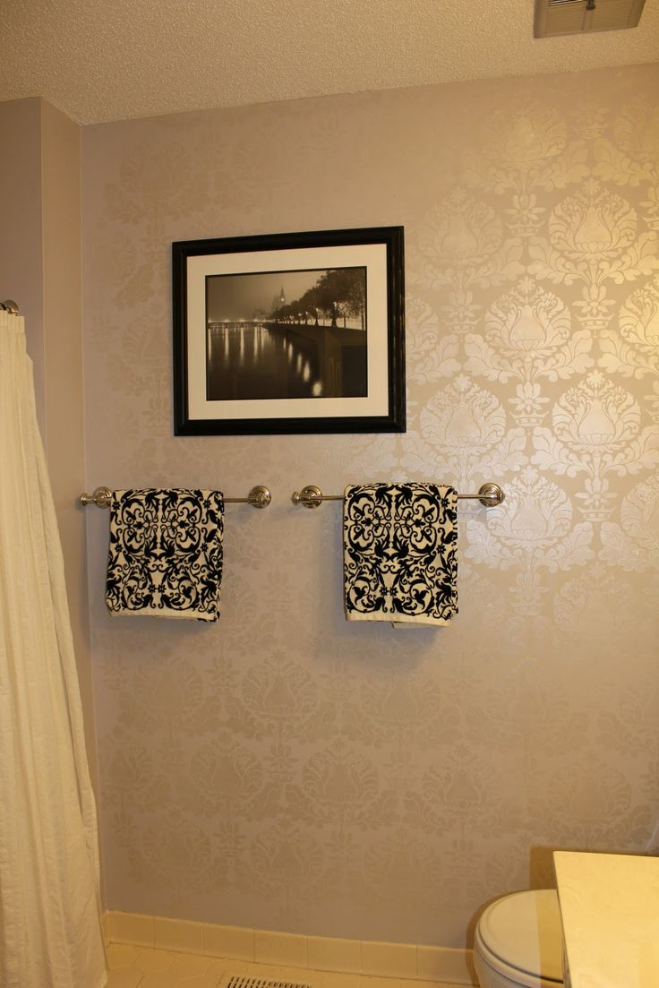 Paint stencils wall image collections home wall decoration ideas 38 best interior home decor images on pinterest at home damask wall stencil for painting with amipublicfo Image collections