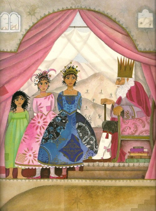 The Apple Pip Princess, illustration by Jane Ray