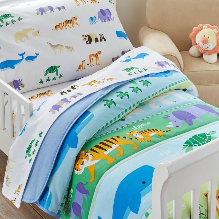 olive kids endangered animals toddler comforter toddler sheet settoddler