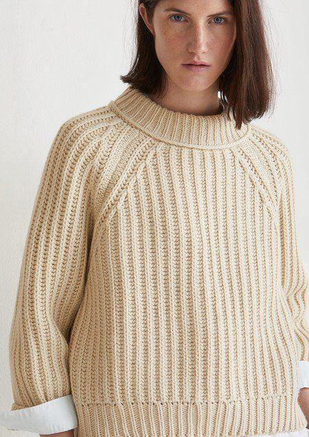 20bba83d228f Chunky Fisherman Rib Sweater   Knit.it   Knitting, Knit Crochet ...