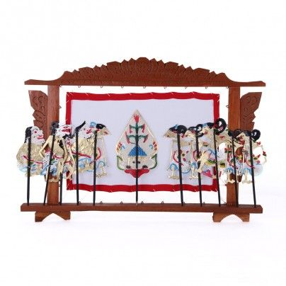 home decoration: wayang orang