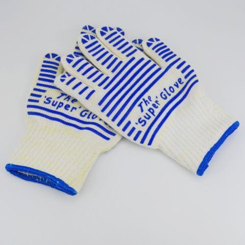 Extreme Heat Resistant Gloves Silicone Gloves LingChen-Thick Light-Weight Flexib