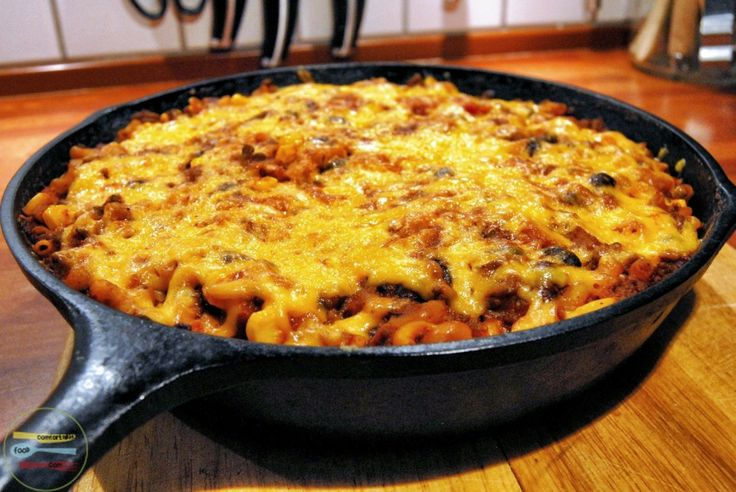 southwest skillet chili mac