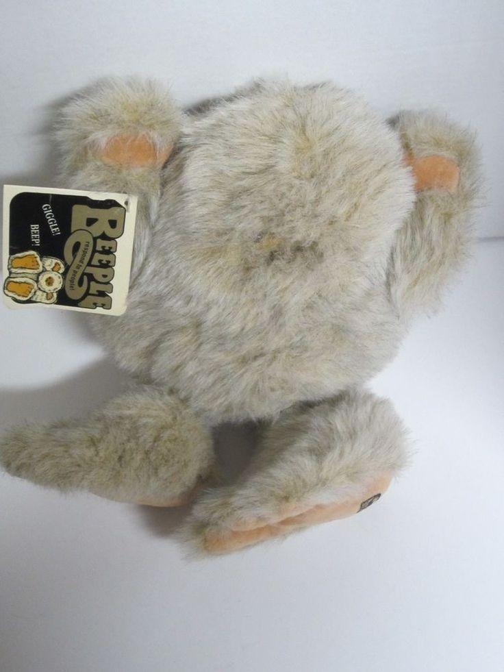 "Carousel Beeple Plush  Vintage 1985 12"" Interactive Toy Sound  | eBay"