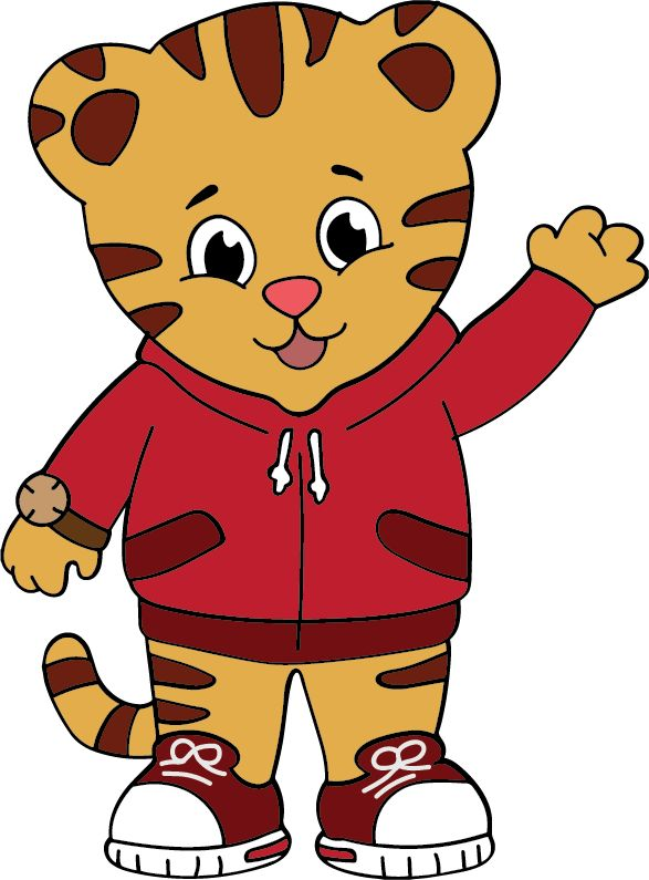 It's just a graphic of Nifty Daniel Tiger Images