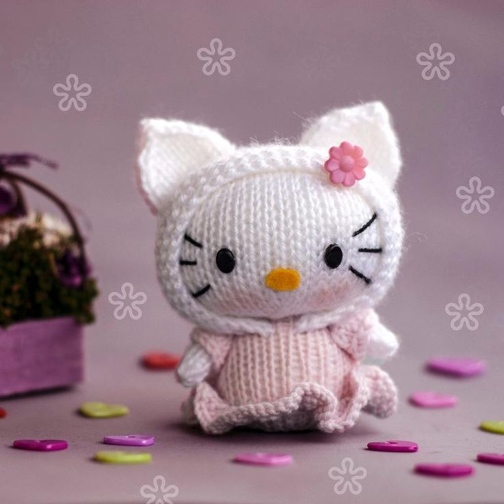 Hello Kitty Doll Toy Knitting Pattern : 1149 best images about ? Hello Kitty Dolls ? on Pinterest