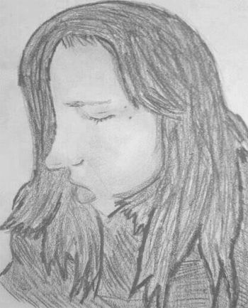 May 2014  Selfie! :D Done in graphite