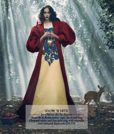 Snow White by Oscar de la Renta at Harrods