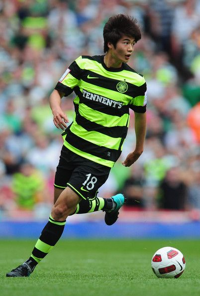 Ki Sung Yueng - Arsenal v Celtic - Emirates Cup
