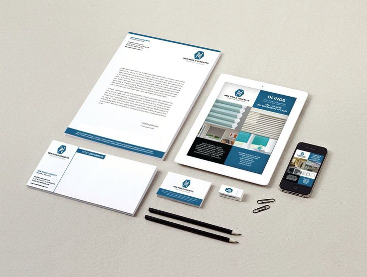 New World Concepts. Corporate stationery. www.missrubydesigns.co.za