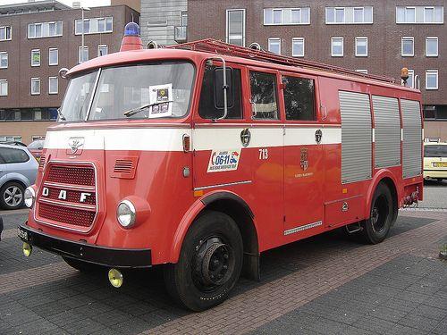 Vianen: 1970 DAF A1300 Fire Truck