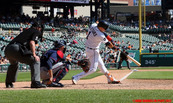 Detroit Tigers vs Twins Sept 24 2017 Game Photos. Minnesota 10, Detroit 4 at Comerica Park. Photos by John Barnes - In Play! magazine