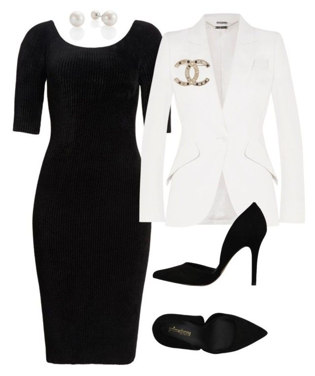 """""""4"""" by explorer-14916524201 on Polyvore featuring Helmut Lang, Alexander McQueen, PrimaDonna and Chanel"""