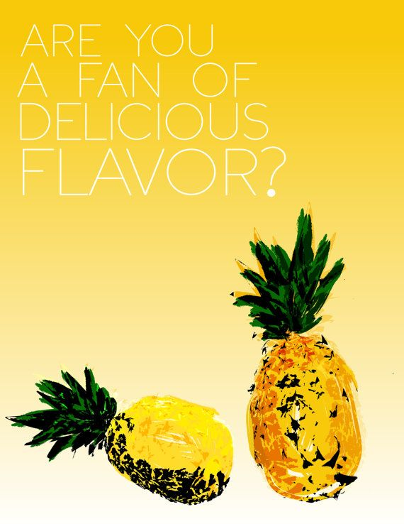 psych tv show funny kitchen quote... are you a fan of delicious flavor.. digital file