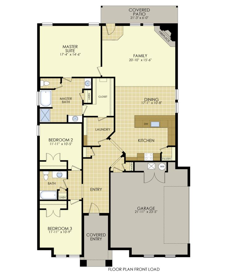 new floor plan martha 2050 square feet three bedrooms two bathrooms http - Midland House Plans