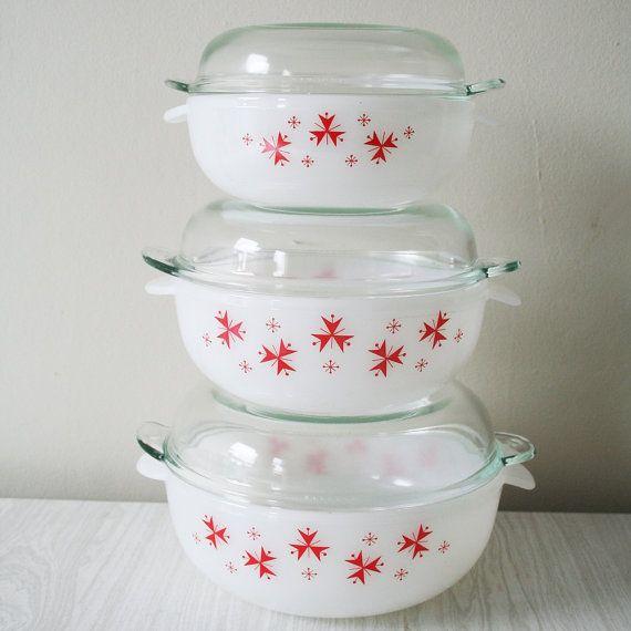Glass Kitchen Bowl Set