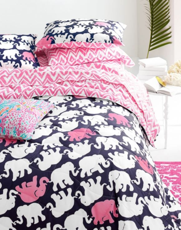 Lilly Pulitzer Perfectly Printed Percale Bedding Collection By Garnet Hill