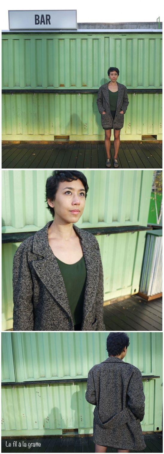 295 besten Naehen Bilder auf Pinterest   Jacken, Mäntel und Nähen ...