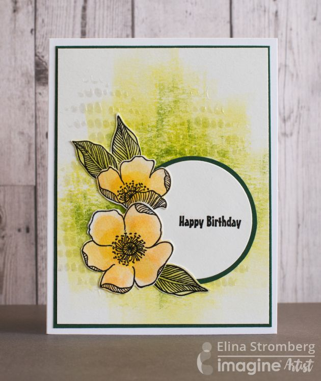 Project Swap: Lime Color Happy Birthday Card | Imagine Blog  Elina