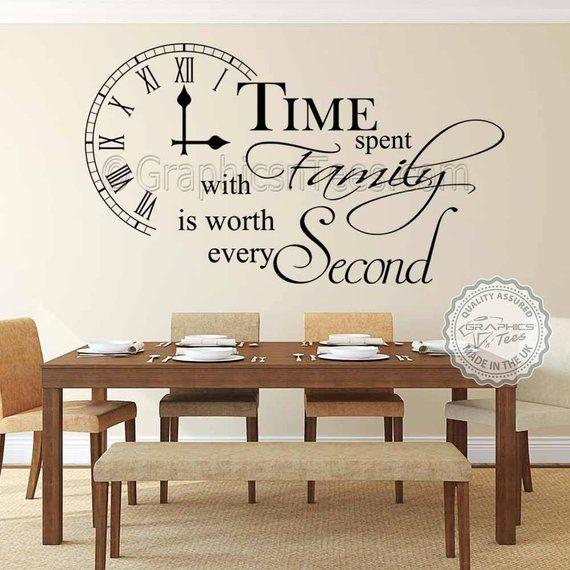 Time Spent With Family Is Worth Every Second Inspirational Etsy