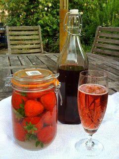 liquore di fragole