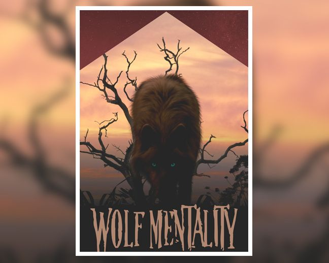 This is for us who follow our own dreams and paths and we don't follow anyone. The wolf never follows, he walks the lonely path of success. Get this poster at: http://www.digital-grief.com/antivisuals/shop/wolf-mentality/