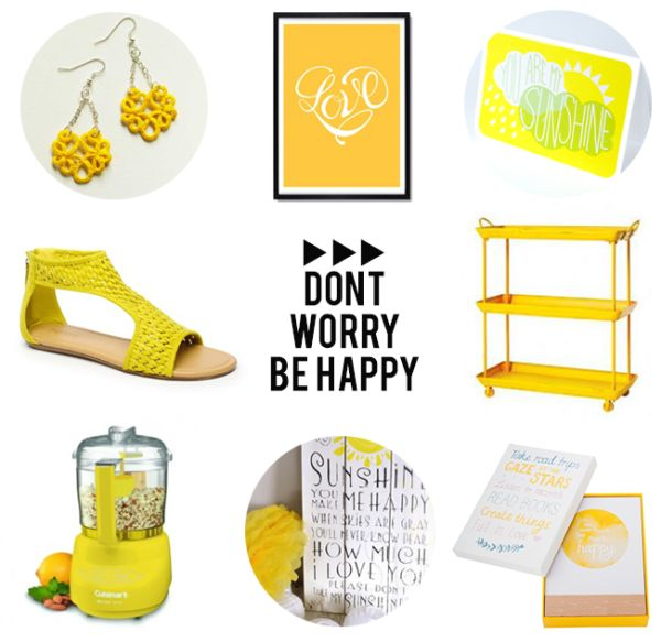 C'mon Get Happy. 5 Friday pick me ups to put a smile on your dial.
