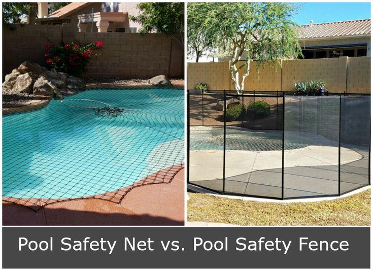 Pool Safety Fence vs. Pool Safety Net