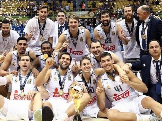 Το τελευταίο Σαββατοκύριακο του Σεπτέμβρη (26-27/9) η Ρεάλ Μαδρίτης κατέκτησε το Διηπειρωτικό Συλλόγων νικώντα