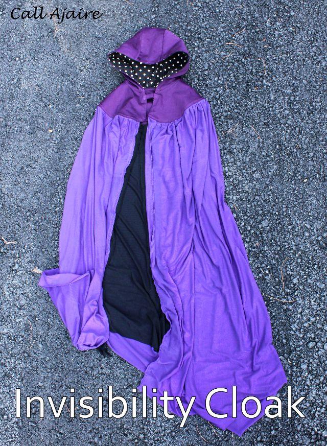 DIY Harry Potter Invisibility Cloak by Call Ajaire - Rae Gun Ramblings