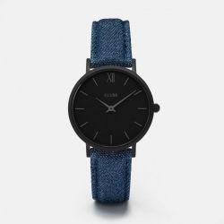 Minuit Full Black/Blue Denim CL30031