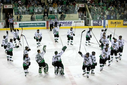 The best sport...and best team of course...yay went to und fighting sioux 2 hockey games...check!!!