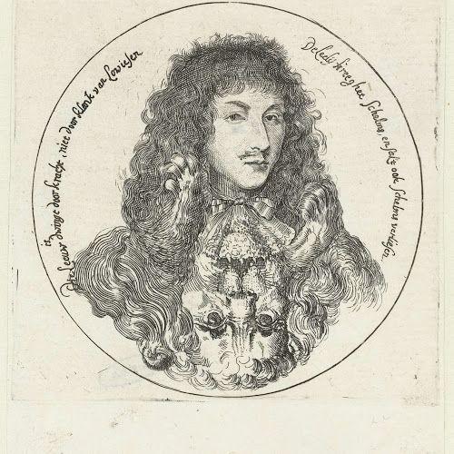 Portret van Lodewijk XIV als een leeuw, 1672, Romeyn de Hooghe, 1672 - Rijksmuseum