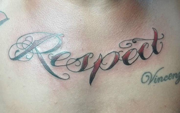 #respect#scritta#tatuaggio