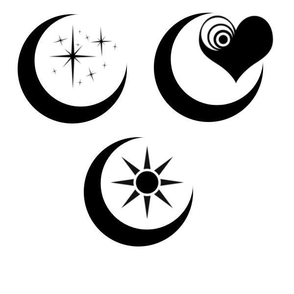 best 25 tribal moon tattoo ideas on pinterest mother of runes shaman symbols and mandala symbols. Black Bedroom Furniture Sets. Home Design Ideas