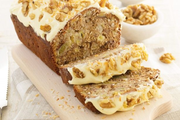 Savour the delicious combination of banana and coconut in Curtis Stone's sweet walnut bread