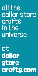 "Dollar Store Crafts - the best website for dollar store inspired craft ideas.  Don't Think ""Dollar Store - Junk Crafts"" no - that couldn't be further from the truth. It's  set up by price (eg. $1 or 5 dollars or less"") decor and tutorials.  This site  - you can still get something for a dollar :)"