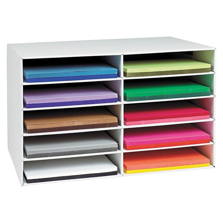 Pacon 001316 Classroom Construction Paper Storage