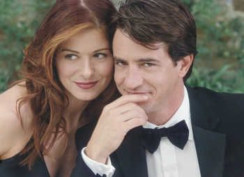 """The Wedding Date"" Starring Debra Messing and Dermot Mulroney"