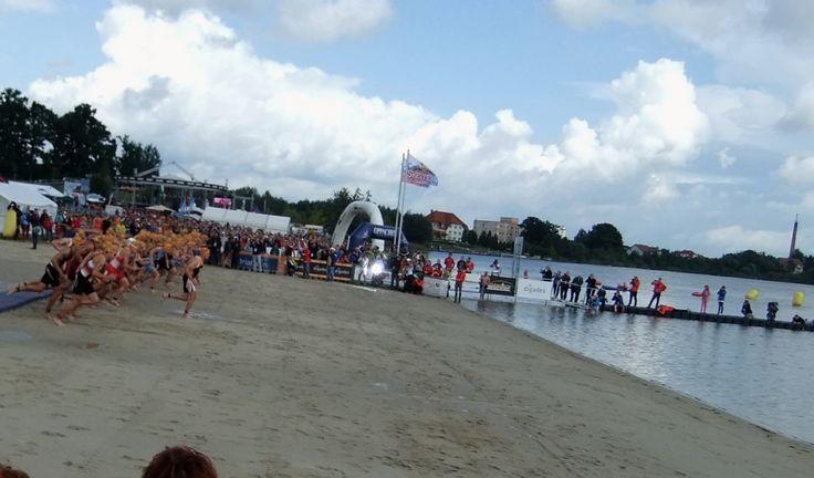 https://flic.kr/p/we3kok | Zittauer Gebirge und Olbersdorfer See,Triathlon WM in Zittau 2014 | ITU World Championships 2014 in Zittau in (Sachsen)