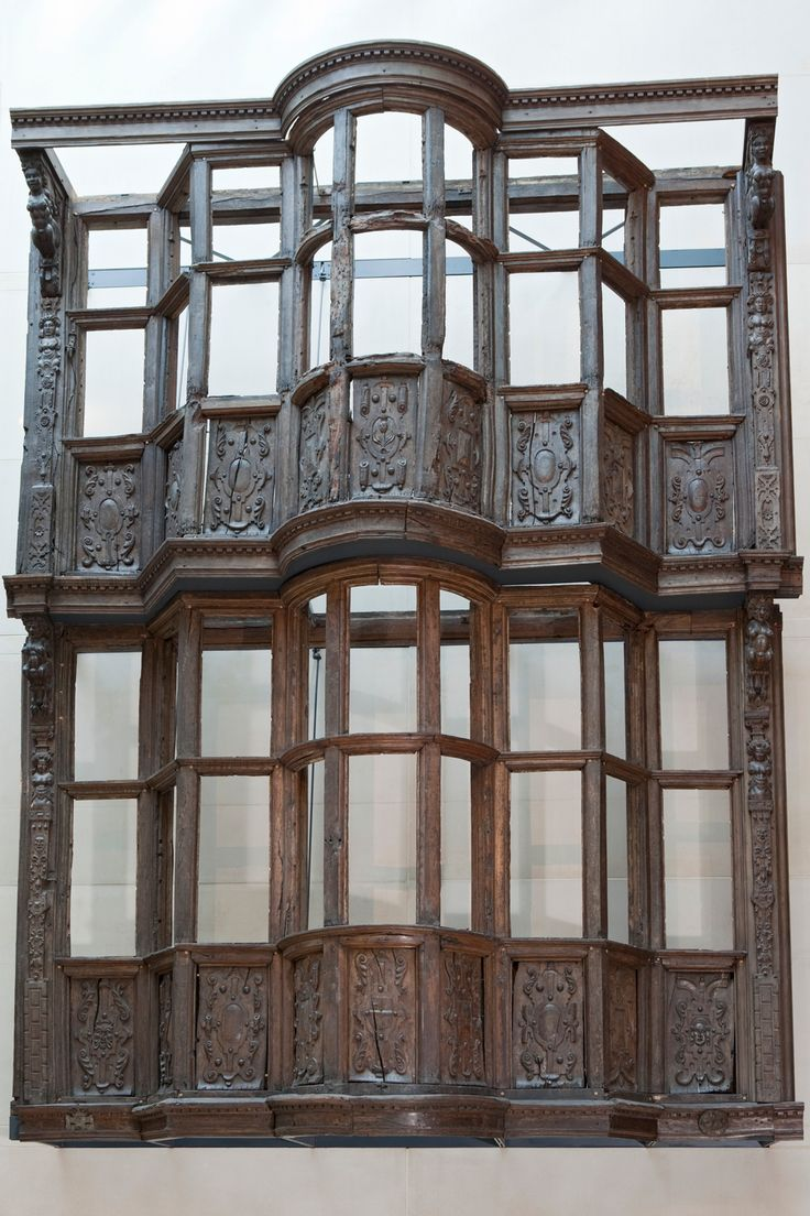 The façade of Sir Paul Pindar's house is an outstanding survival of a London timber-framed house built before the Great Fire of 1666. It was built in around 1599 by Paul Pindar (1565?–1650)