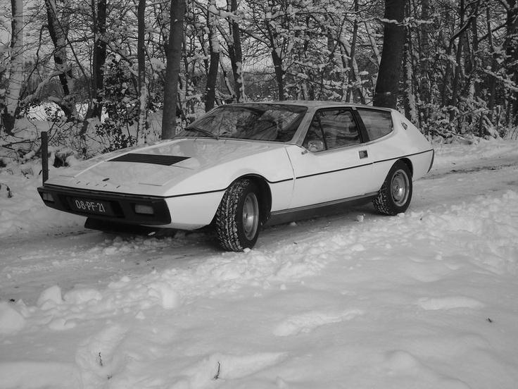 This used to be my car. I bought it because of the fabulous 1970's wedgeshape. Had it for 4 years, drove about 10000 km in it, a pleasure to drive. Very sorry I had to let it go...  Lotus Elite 501, 1977