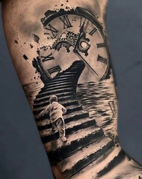 Resultado de imagen para tatuaje en el brazo derecho media manga