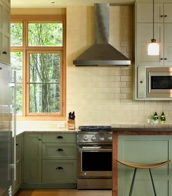 Olive Green Kitchen Decor