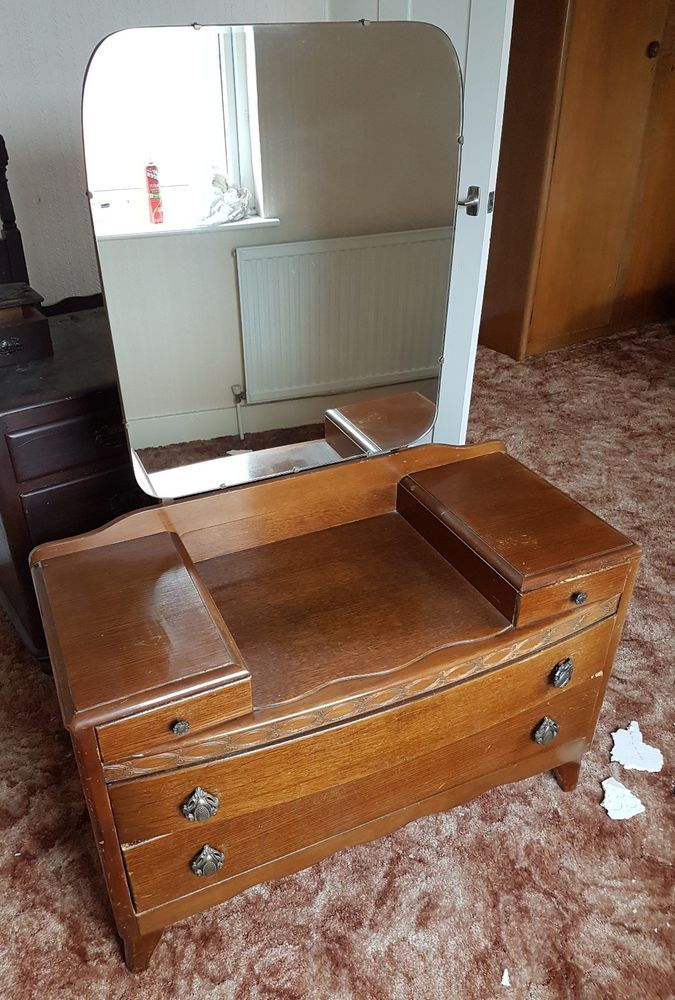 lowest price 9936e fae1e Lebus 1960's Dressing Table With Mirror Nottinghamshire ...