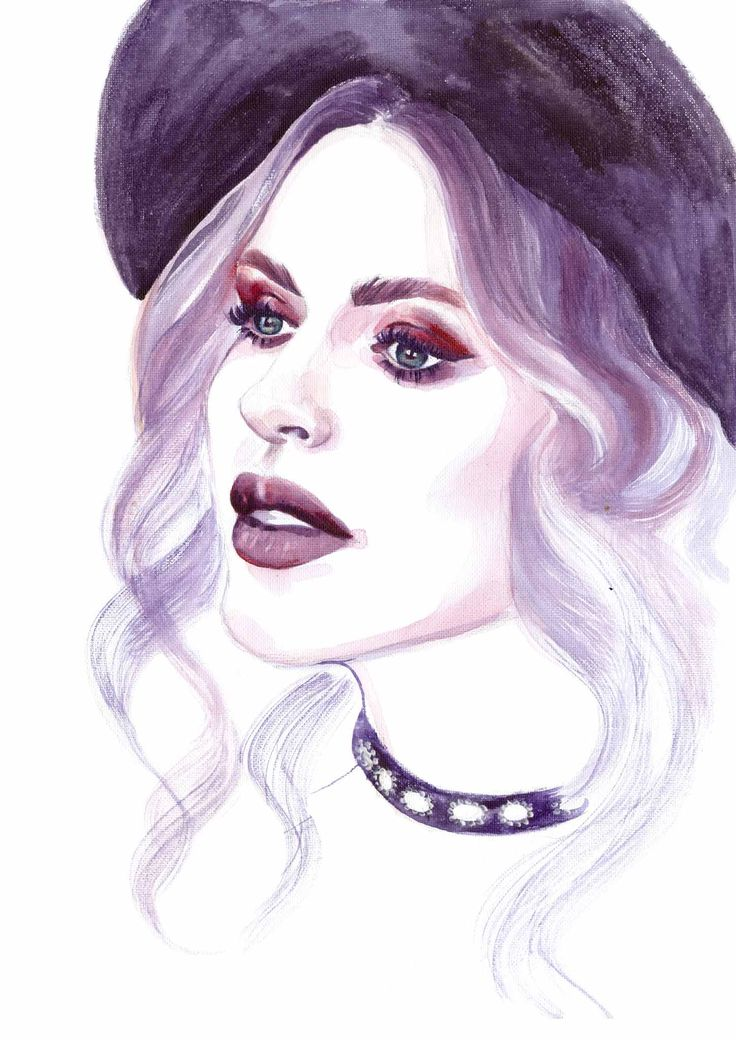 Ioana Chisiu | Online Editor | Watercolor Illustration | Sinestezic