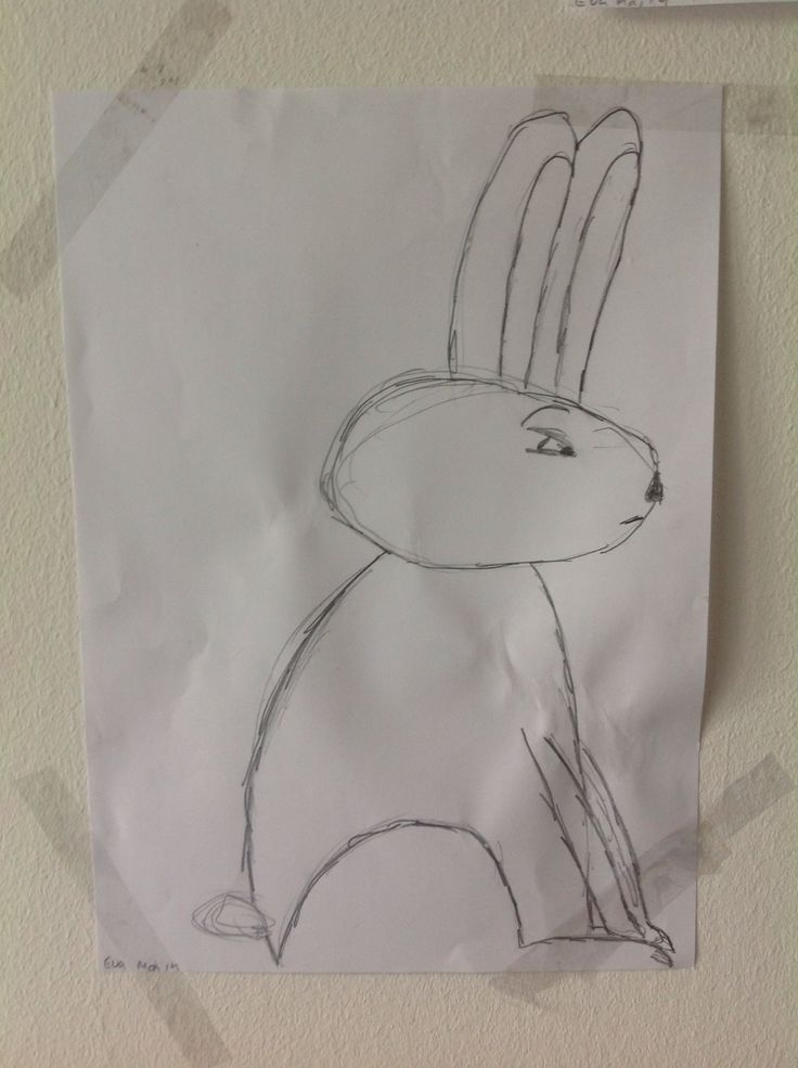 Evil rabbit...