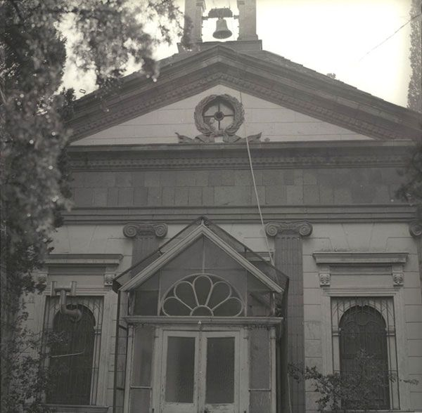 The Anglican Church of Bornova as seen in the 1970s.