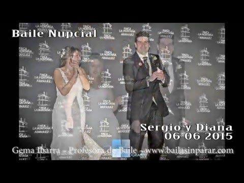 Boda Sergio y Diana 06 06 2015. Bailando mix de canciones como baile nup...